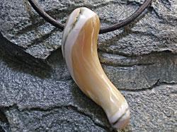 海からの贈り物★夜光貝(ヤコウガイ)チョーカー