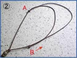 チョーカー(スライド式)の紐の長さ調節方法