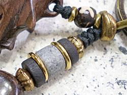 海モチーフ★ウッド(木彫り)キーホルダー シュモクザメ